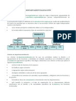 VISION MODERNA DE DEPARTAMENTALIZACION
