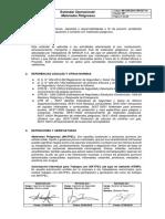 MI-COR-SSO-CRI-EST-10 Estándar Operacional de Materiales Peligrosos (versión 2)