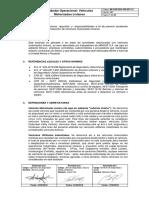 MI-COR-SSO-CRI-EST-13 Estándar Operacional de Vehículos Motorizados Livianos (versión 2)