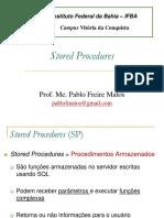 Slide - Stored Procedures