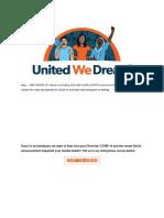 UWD - Undocuhealth Survey on COVID-19 DACA