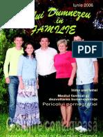Revista  Voia lui Dumnezeu in familie Nr.1
