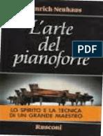 Larte del pianoforte. Note di un professore by Heinrich Neuhaus, V. Voskobojnikov (editor) (z-lib.org).pdf