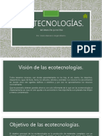 Explicacion Ecotecnologias