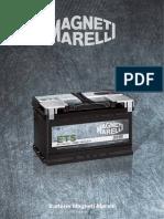 Batterie Magneti Marelli 2016-17