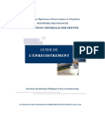 GUIDE DE L'ENREGISTREMENT -2009