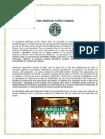 Caso Starbucks Coffee Company