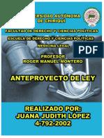 ANTEPROYECTO DE lEY DEL CODIGO PENAL