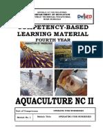 Tle-Afa Lg Gr. 10 Aquaculture (Fish Culture)