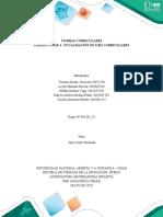 Fase 4- Focalización de ejes curriculares