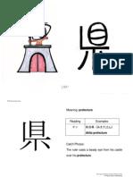 tarjetas kanji
