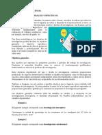 CLASES DE OBJETIVOS GENERALES Y ESPECÍFICOS