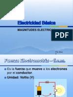 electricidadbsica-magnitudeselctricas-120304130948-phpapp01
