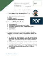 1° Práctica evaluada Comunicación