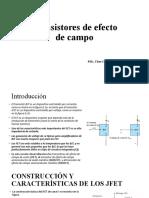 Transistores de efecto