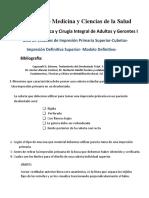 Compartir GUÍA UAI IMP DEF SUP. CUBETA- DESGASTE - MODELO DEF 20202