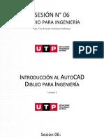 Introducción al AutoCAD