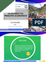 10. La escasez y el principio económico