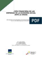 La posición financiera de las empresas de economía social (Comunicación CIRIEC, 2009)