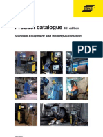 Product Catalogues Welding Equipment 4th Edition