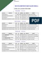 EXÁMENES PARCIALES 2020-A.xls