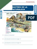 DESASTRES DE LA NATURALEZA