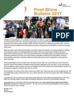 AIMEX 2017 Post Show Bulletin