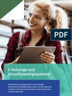 E-Kataloge und Klassifizierungssysteme mit Perfion PIM