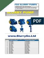 Warman Pump Models