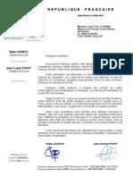 Notre courrier à Jean-Yves Le Drian pour la libération de Salah Hamouri