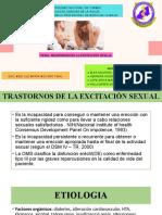 TRASTORNOS DE LA EXCITACIÒN SEXUAL