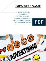 Advertising pptx
