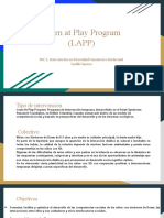 Learn at Play Program