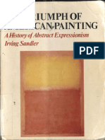 The Triumph of American Painting Irving Sandler
