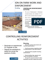 Do and do not in Reinforcement Steel works