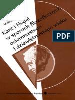Kant i Hegel w Sporach Filozoficznych