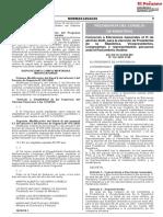 DECRETO SUPREMO Nº 122-2020-PCM
