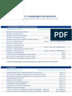 Tarifas_y_Comisiones mercantil panama