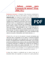 Procede hábeas corpus para determinar tenencia de menor.pdf