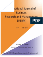 International Journal of Business Research and Management (IJBRM), Volume (1), Issue (2)