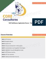 SAP Netweaver 3 Days Slides