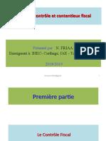 Le contrôle fiscal  2019.ppt
