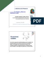 Definiciones basicas - matriz Yn - ecuaciones nodales