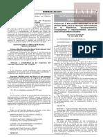 Decreto Supremo N° 122-2020-PCM
