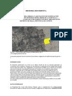 MEMO DESCRIP-ANEXION CASCO URBANO Y ZONIFICACION