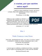 SERMÃO 1 - TUDO COMEÇA COM DEUS
