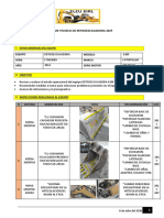 INFORME TECNICO - RETROEXCAVADORA 420F - LTG02889 - DARIO