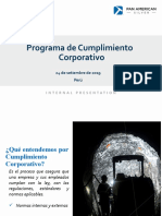 Pan American Silver - Capacitación