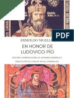 Ermoldo Nigello - En honor de Ludovico Pío