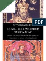 Notker Balbulus - Gestas del Emperador Carlomagno